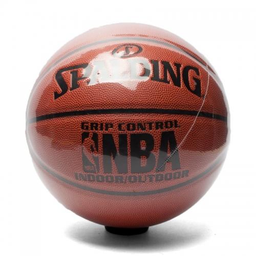 斯伯丁篮球真皮室内外耐磨7号