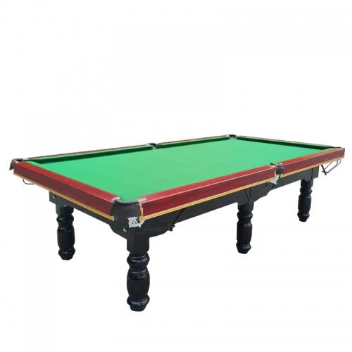 台球桌标准成人家用美式黑八台球