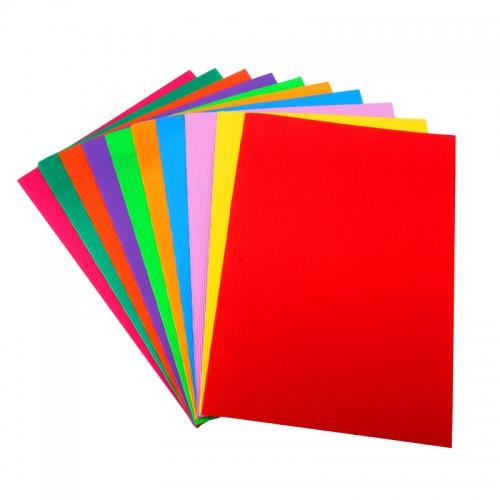 4K彩色瓦楞纸